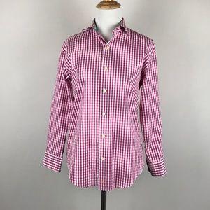 THOMAS DEAN • Checkered Button-Up